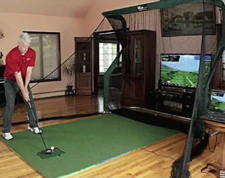 OptiShot 2 Practice Golf Simulator Package
