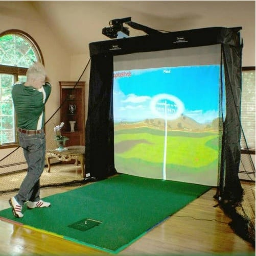 OptiShot 2 Platinum Golf Simulator